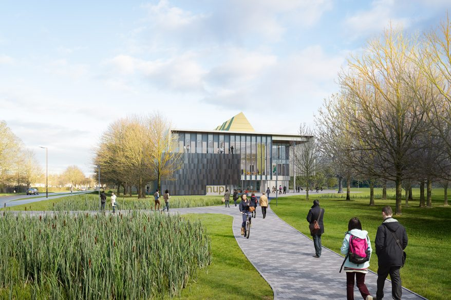 New £30 million university for Peterborough is officially launched by Universities Minister